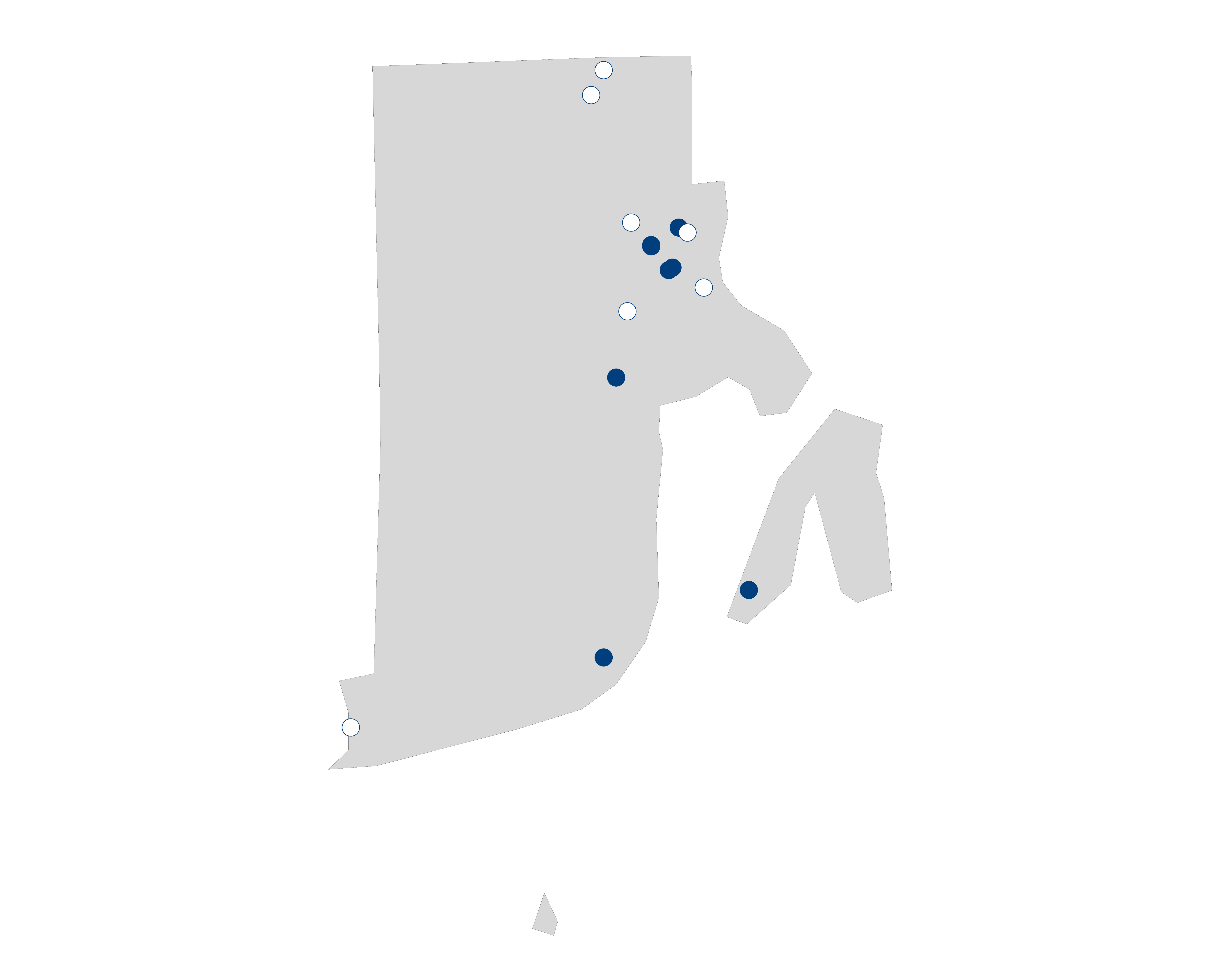 hospital palliative care map for Rhode Island